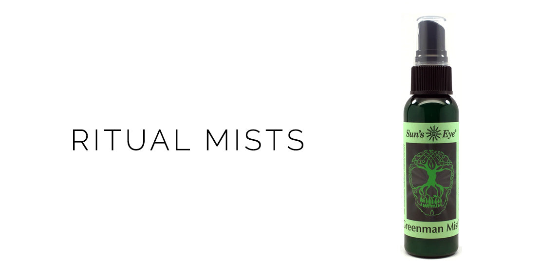 Suns Eye Greenman Mist - Ritual Mists - Sabbat Box