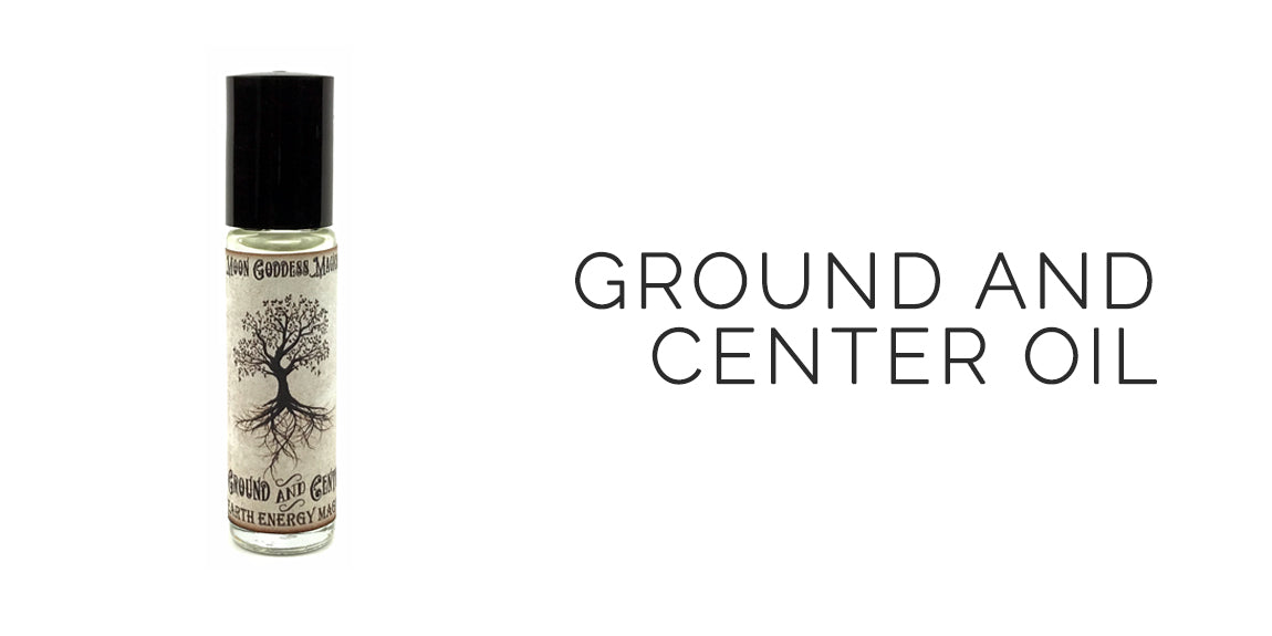Ground and Center Ritual Oil By Moon Goddess Magick Apothecary