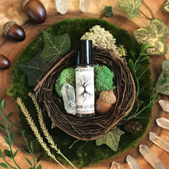 Moon Goddess Magick Apothecary - Ground and Center Ritual Oil