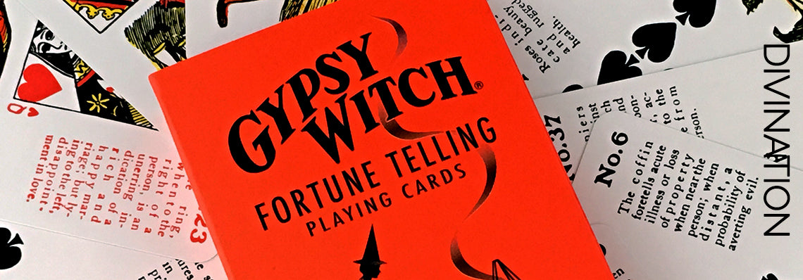 Gypsy Witch Fortune Telling Cards - Samhain Sabbat Box