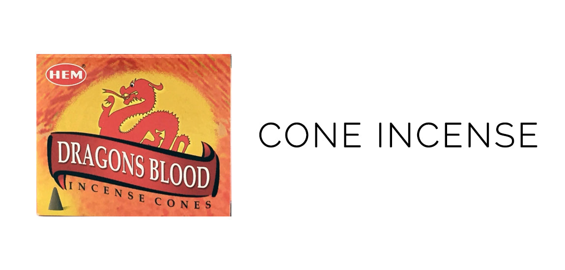 HEM Dragon's Blood Cone Incense - Mabon Sabbat Box