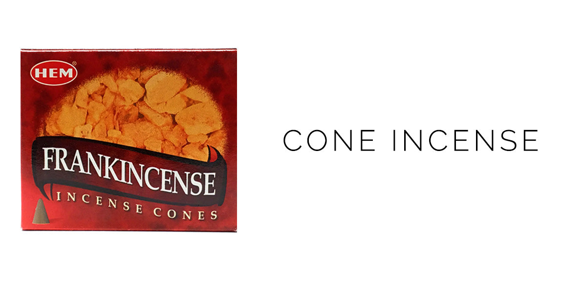 HEM Frankincense Cone Incense 10 pack