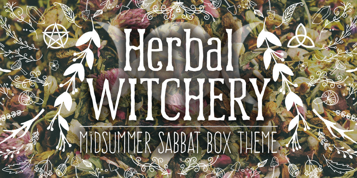 Herbal Witchery Midsummer Sabbat Box