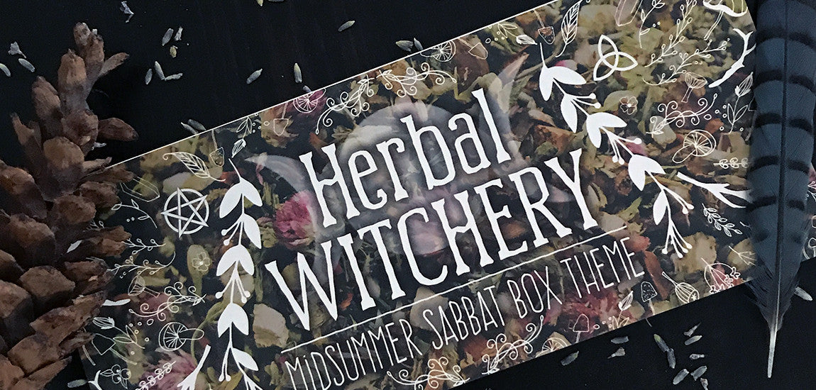 Herbal Witchery Midsummer Sabbat Box for 2017