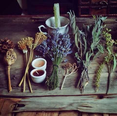 Herbal Witchery - Litha Midsummer Sabbat Box Theme