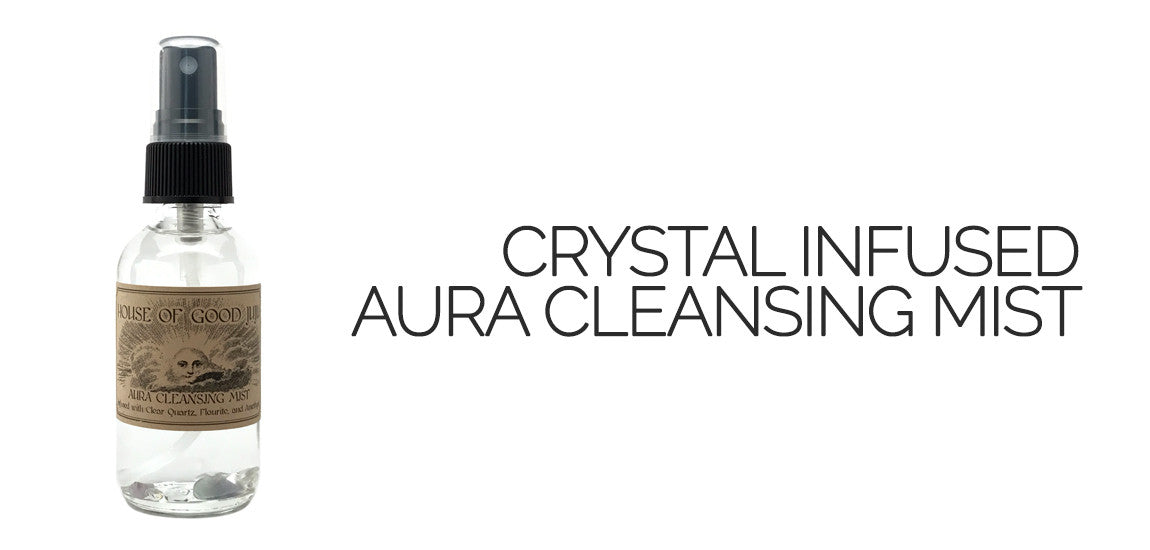 House of Good Juju Aura Cleansing Mist