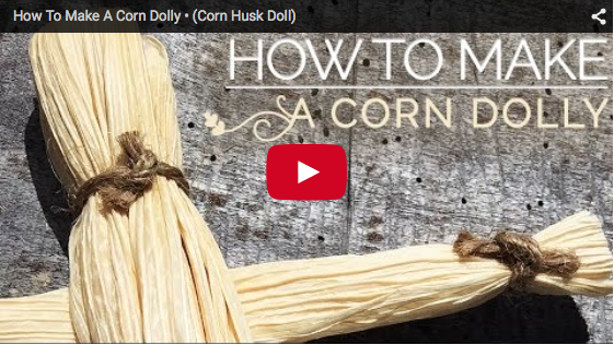 How To Make A Corn Husk Doll For Lammas