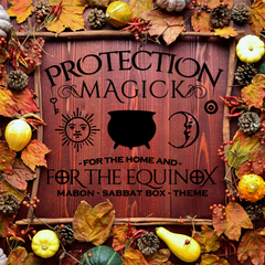 Mabon Sabbat Box 2016 - Protection Magick for the Home and for the Equinox