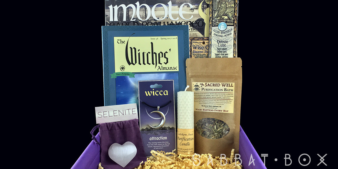 2017 Candlemas/Imbolc Sabbat Box - Subscription Box For Witches and Pagans