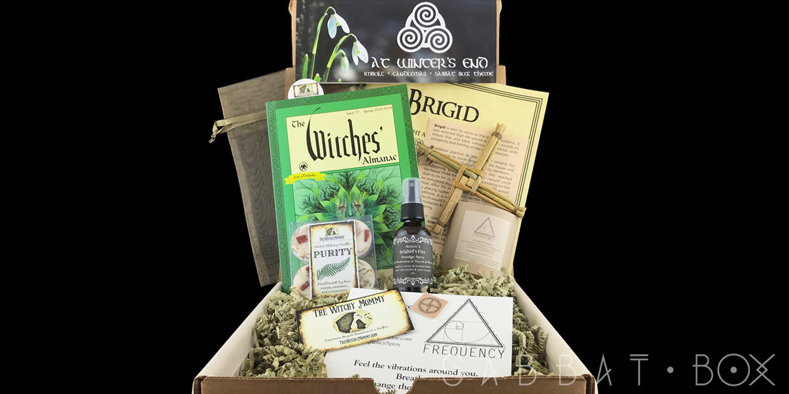 2018 Imbolc Sabbat Box - Witch Subscription Box Wiccan Subscription Box Pagan Subscription Box