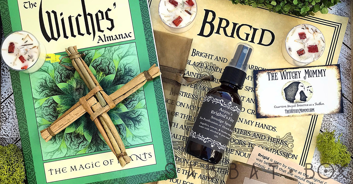Imbolc Sabbat Box - Sabbat Box a Subscription Box Service for Witches, Wiccans and Pagans