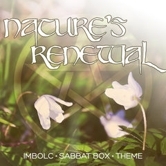 Imbolc Sabbat Box Theme - Subscription Box For Witches Wiccans and Pagans
