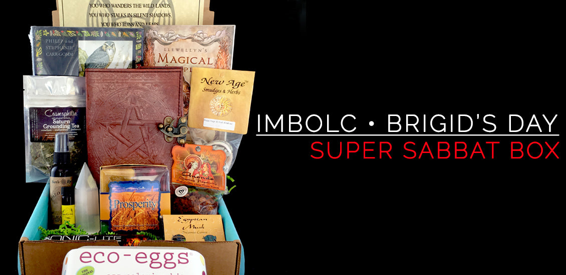 Imbolc Super Sabbat Giveaway Box And Winner