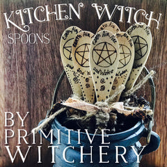 Kitchen Witch Spoons By Primitive Witchery