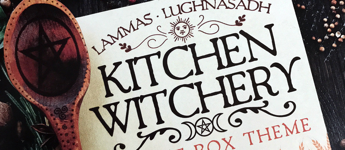 Sabbat Box Kitchen Witchery Lammas Lughnasadh Sabbat Box Theme