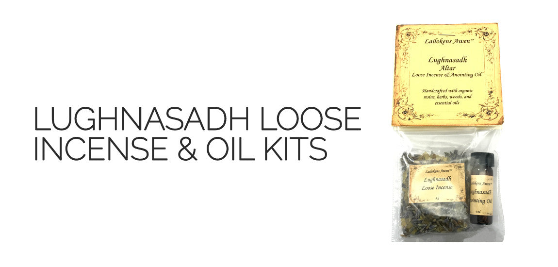 Lammas Lughnasadh Incense and Oil Set - By Lailoken's Awen