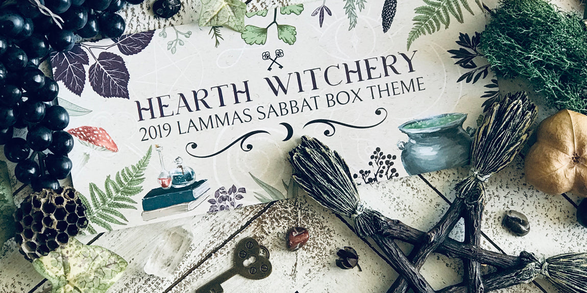 Shop the 2019 Lammas Sabbat Box - Hearth Witchery