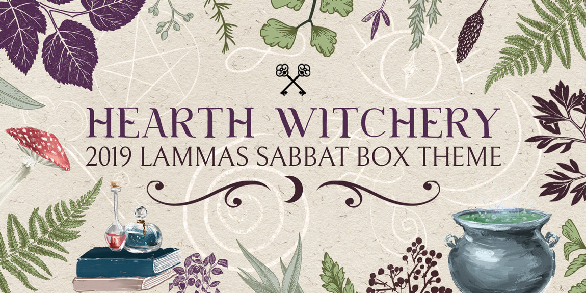 Sabbat Box 2019 Lammas Sabbat Box Theme - Hearth Witchery