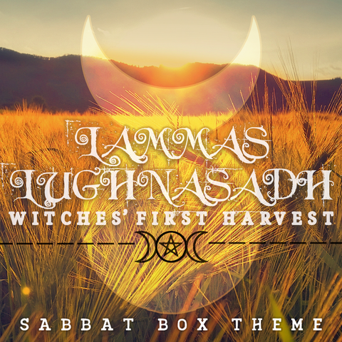 Lammas - Lughnasadh Sabbat Box for 2016 - Witches First Harvest
