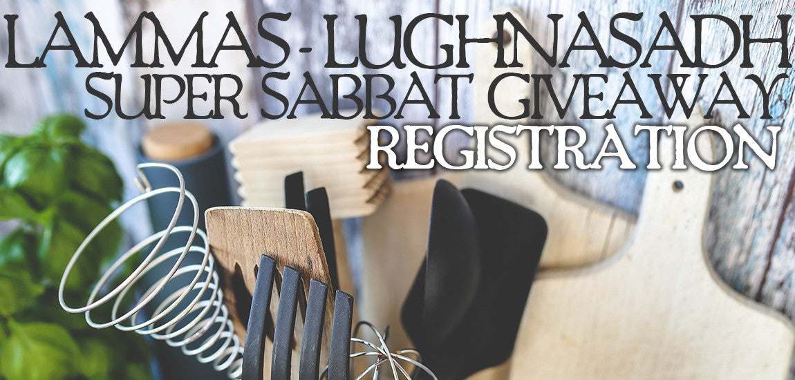 Lammas Lughnasadh 2017 Sabbat Box Super Sabbat Giveaway Registration - Kitchen Witchery