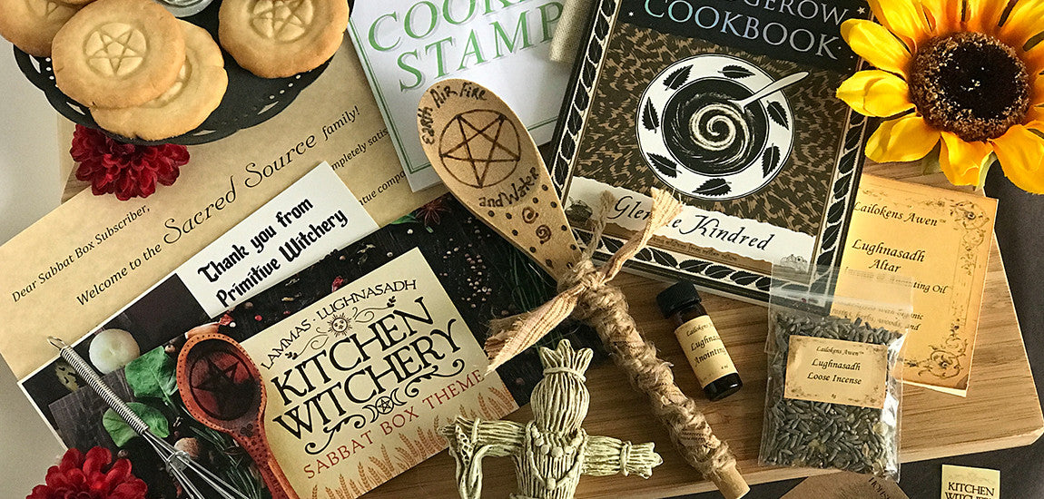 Kitchen Witchery - Lammas Sabbat Box For 2017