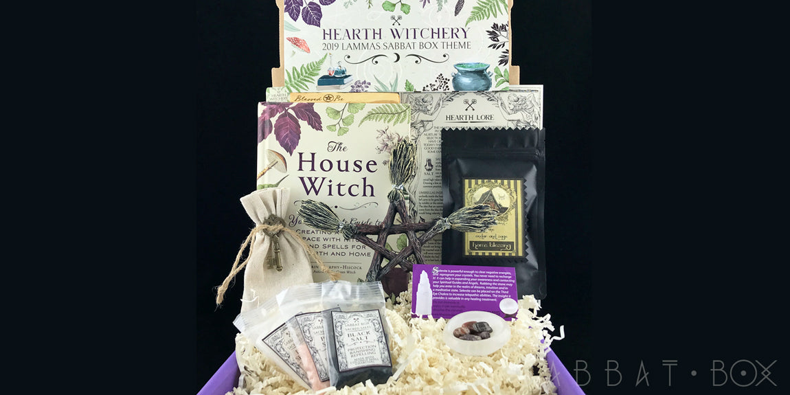 2019 Lammas Sabbat Box Hearth Witchery Witch Subscription Box Pagan Subscription Box