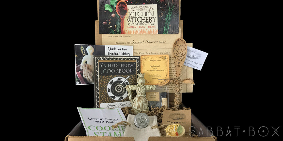 Lammas Sabbat Box Kitchen Witchery Sabbat Box