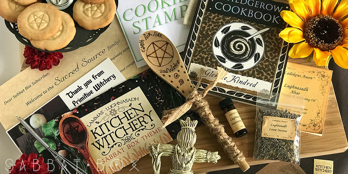 Lammas Sabbat Box - Kitchen Witchery Sabbat Box