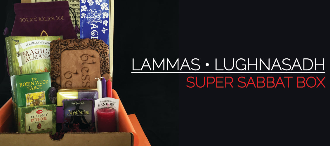 Lammas • Lughnasadh - Super Sabbat Giveaway Box & Winner