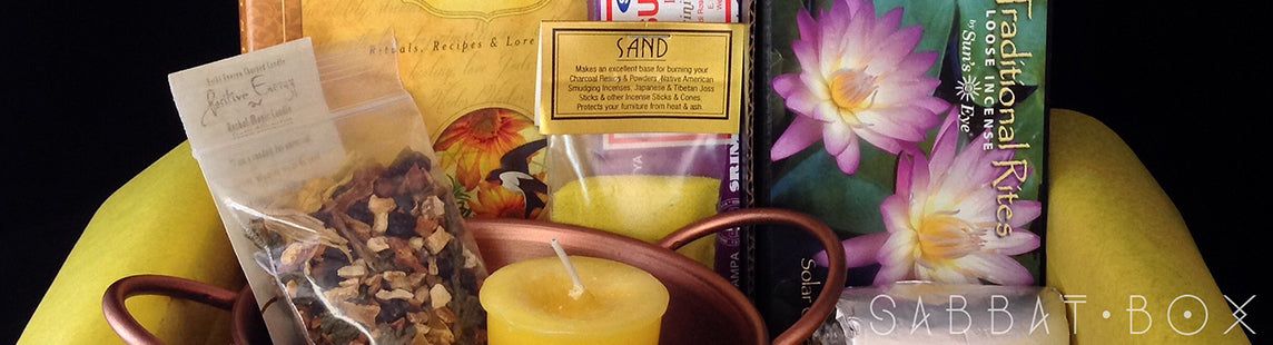 2015 Litha Midsummer Sabbat Box - A Subscription Box For Wiccans Witches and Pagans
