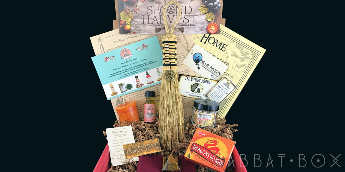 Mabon Sabbat Box The Second Harvest - Wiccan Subscription Box Witch Subscription Box Pagan Subscription Box