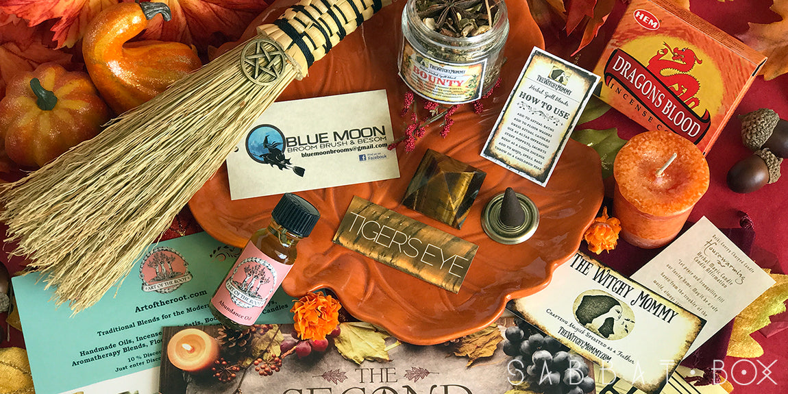 Discover the 2017 Mabon Sabbat Box - The Second Harvest