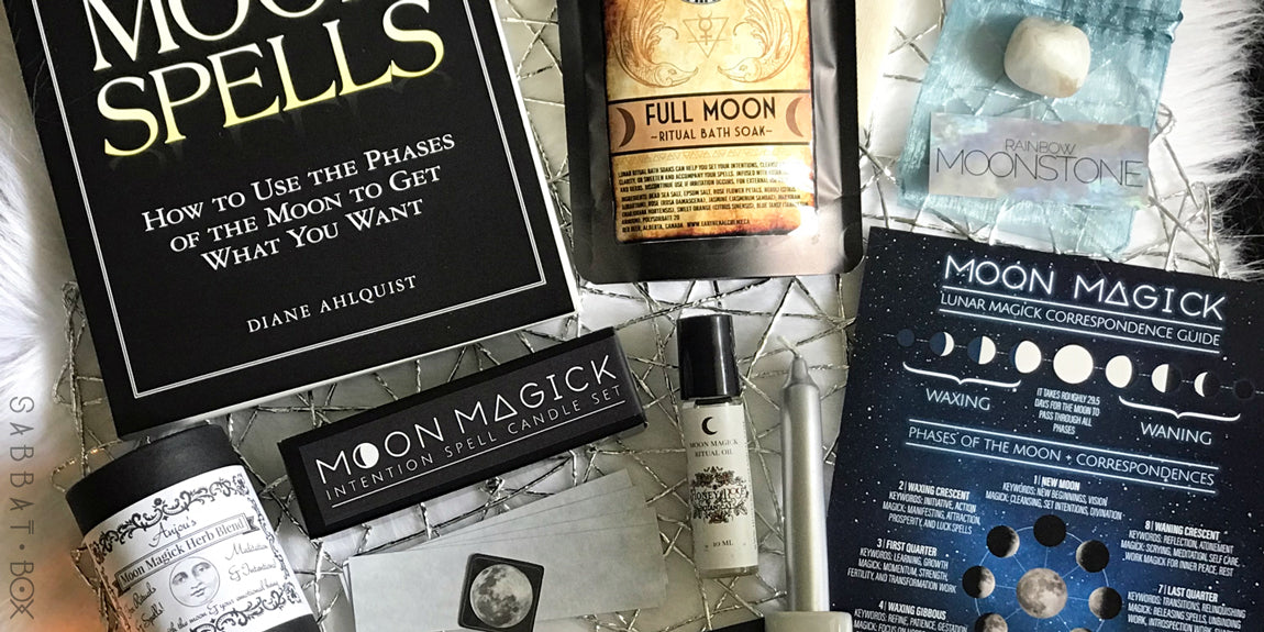 2018 Mabon Sabbat Box - Moon Magick Sabbat Box - Wiccan Ritual Supplies Pagan Subscription Box Service