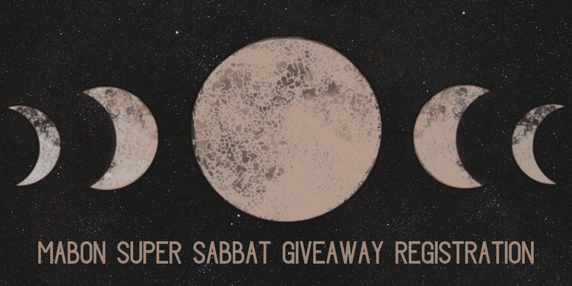 Mabon 2018 Super Sabbat Giveaway Registration With Sabbat Box - Moon Magick