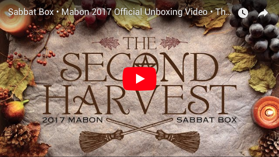 Mabon Sabbat Box Unboxing Video - The Second Harvest - A Subscription Box For Wiccans and Pagans
