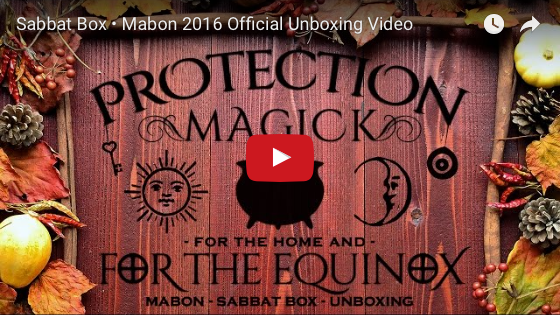 2016 Mabon Sabbat Box Unboxing Video