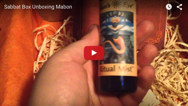 Mabon Sabbat Box Super Sabbat Box Winner Video