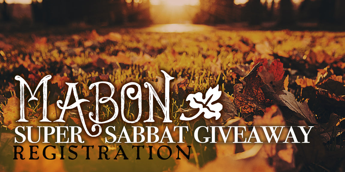 Mabon Super Sabbat Giveaway Registration Form - Sabbat Box