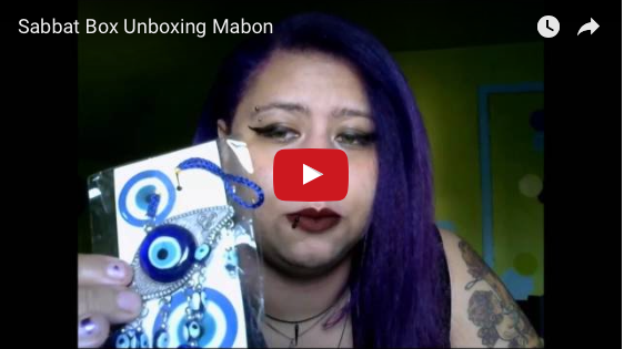 Mabon Sabbat Box Unboxing Video - Giveaway Winner's Video