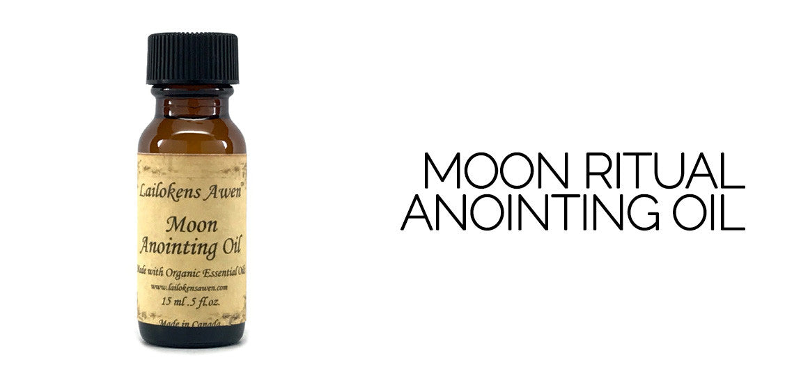 Moon Ritual Anointing Oil By Lailoken's Awen