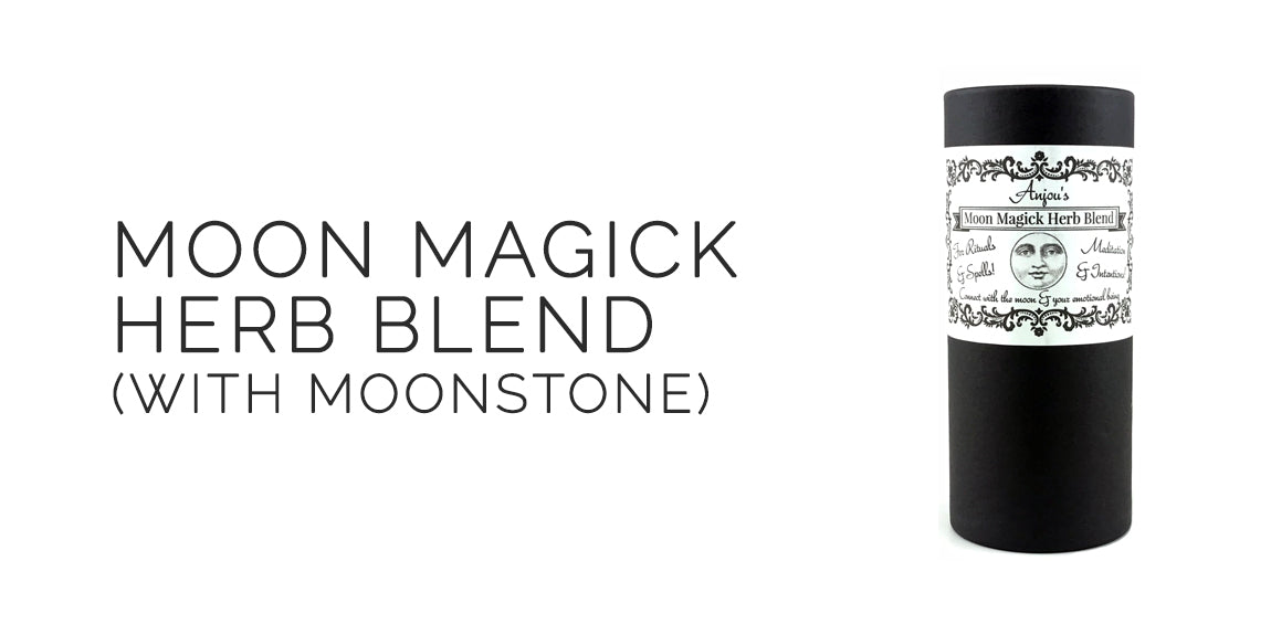 Moon Magick Herbal Blend By Light of Anjou - Sabbat Box Moon Magick Sabbat Box For Mabon