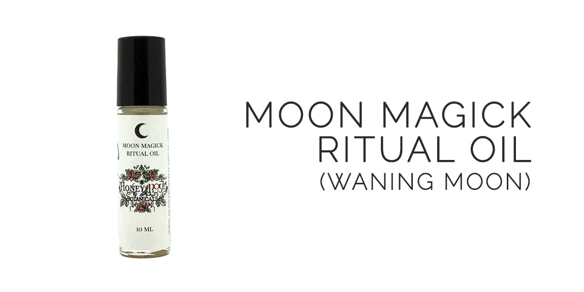 Moon Magick Ritual Oil By Honey Rose Botanicals