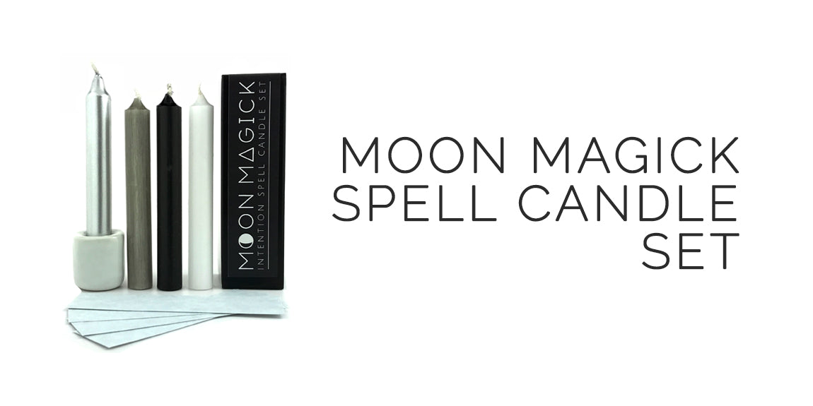 Moon Magick Candle Set - By Sabbat Box - Mabon Sabbat Box
