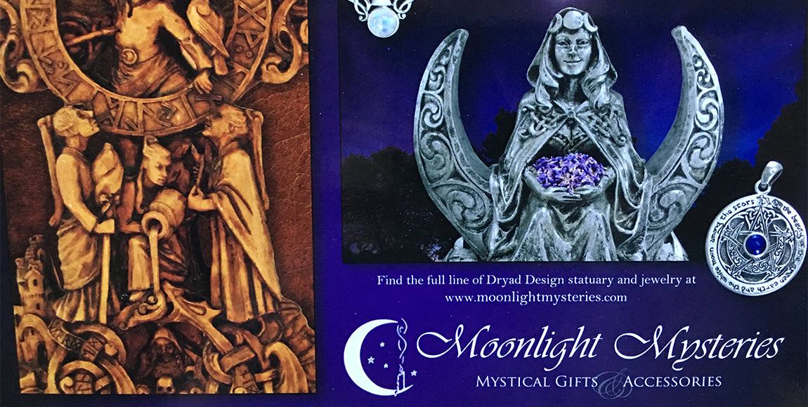 Moonlight Mysteries Pagan Statuary and Pagan Jewelry