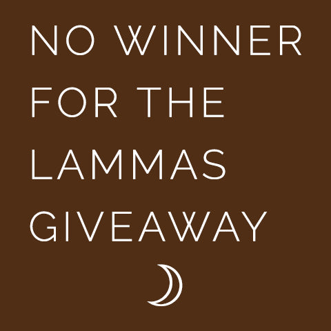 Lammas Super Sabbat Giveaway Winner - 2018