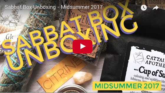 Midsummer Super Sabbat Giveaway Winner - 2017