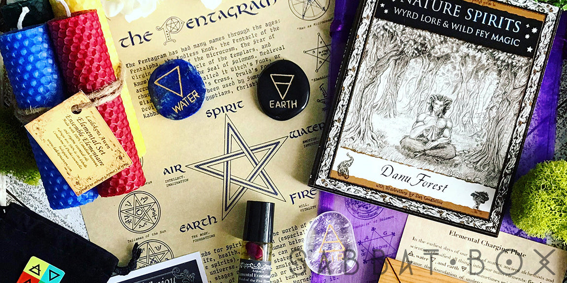 Elemental Magick 2018 Ostara Sabbat Box - Subscription Box For Pagans
