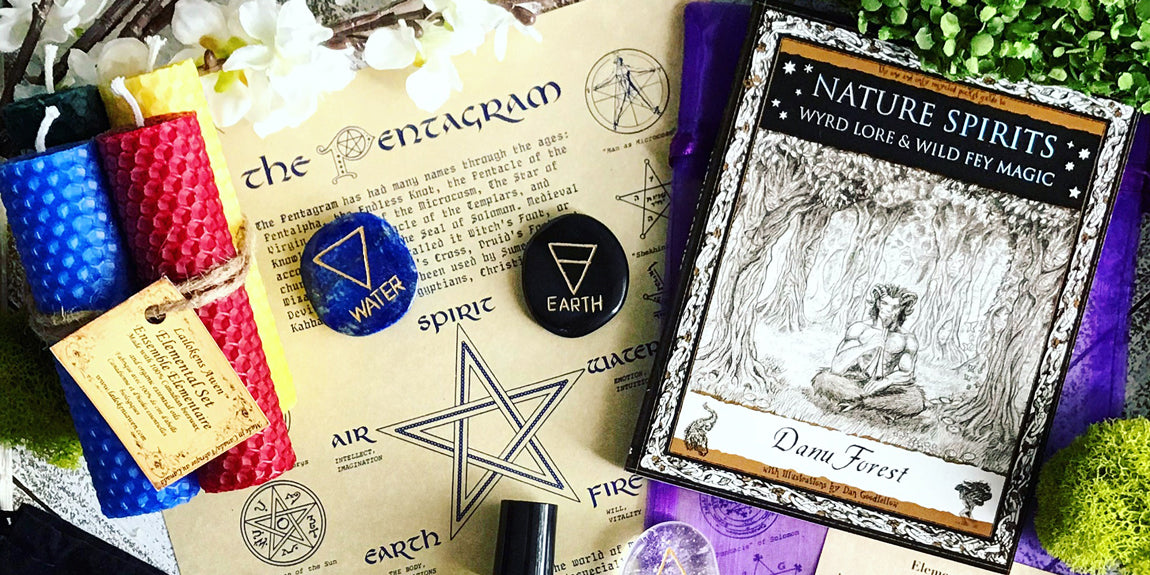 2018 Ostara Sabbat Box - Elemental Magick - Wiccan Subscription Box Pagan Subscription Box Witch Box
