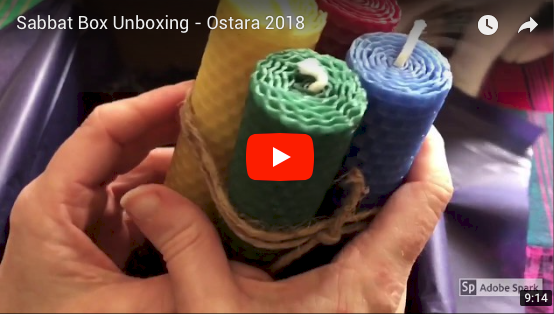 2018 Ostara Super Sabbat Giveaway Winner for Sabbat Box