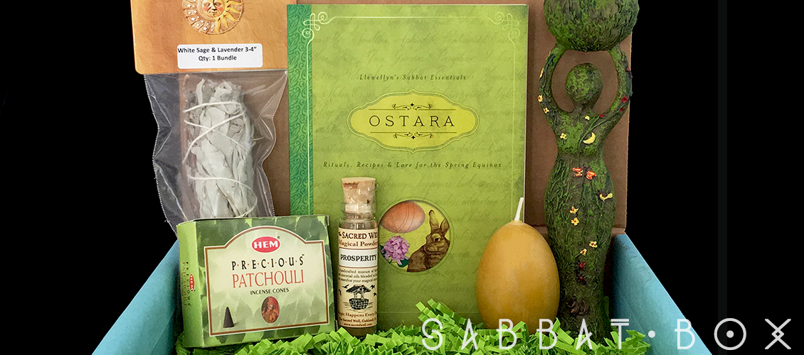 Ostara Sabbat Box - Shop Wiccan Supplies
